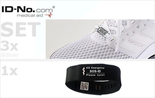SOS-ID Set Universal Chip & Armband