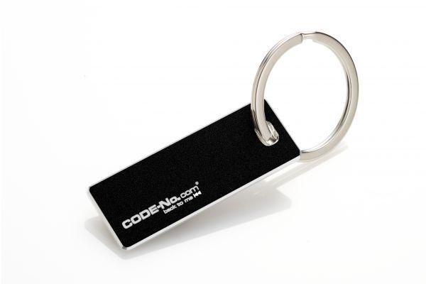 Schlüsselanhänger OSLO, mit Designkante (2,5mm), in Geschenkverpackung