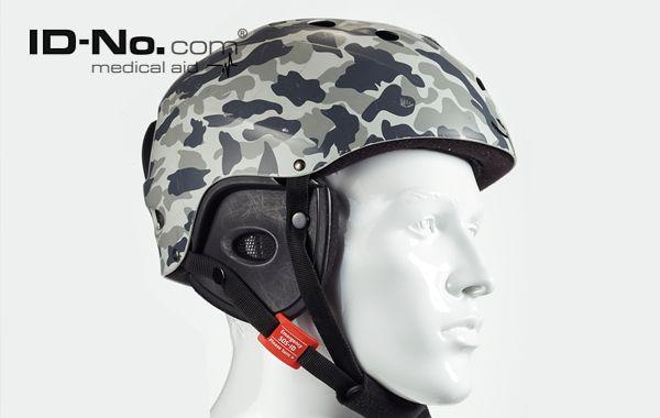 SOS-ID Universal Helmtag